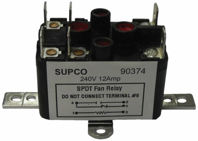 relay pr380 schematic wiring diagram supco 90380 general purpose fan relay 13a load current 24 v coil  supco 90380 general purpose fan relay