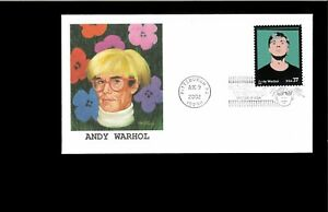 2002-First-day-Cover-Andy-Warhol-Pittsburgh-PA