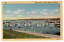 Monterey-California-1941-Curteich-Vintage-Linen-Postcard-Fishing-Fleet-at-Anchor thumbnail 1