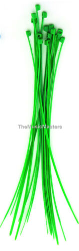 """500 Green 6/"""" inch Wire Cable Zip Ties Nylon Tie Wraps 40lb USA Made Tiger Ties"""