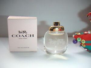 RARE-amp-JOLIE-miniature-COACH-NEW-YORK-Eau-de-Parfum-pleine-boite-NEUVE