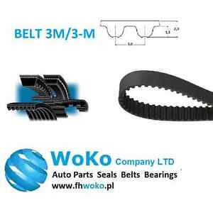 276-3M-15 HTD Timing Belt 276 mm Long 15mm wide /& 3mm Pitch