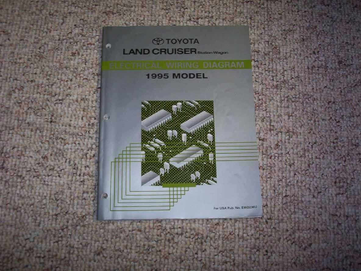 Magnificent 1995 Toyota Land Factory Original Electrical Wiring Diagram Manual Wiring Digital Resources Biosshebarightsorg