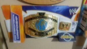 WWE-Mattel-Intercontinental-Championship-Title-Belt-for-Kids-2012-Autographed