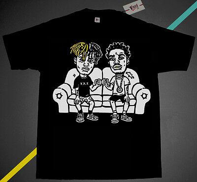 Cole  /& J.I.D couch shirt supreme rappers hip hop jid rap Fnly94  Black tan J
