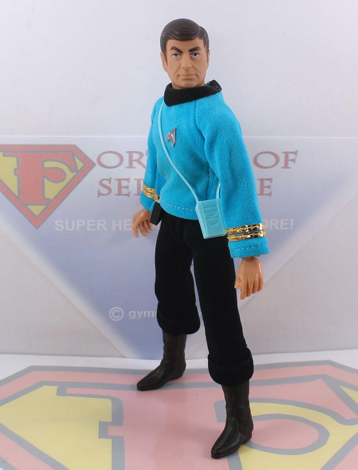 1974 Mego 8   Type 1 Action Figure- Dr Bones McCoy -Star Trek  MINTY Complete