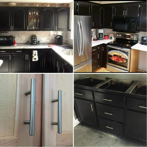 40pack Stainless Steel Kitchen Cabinet Handles T Bar Pull for Cabinet Hardware