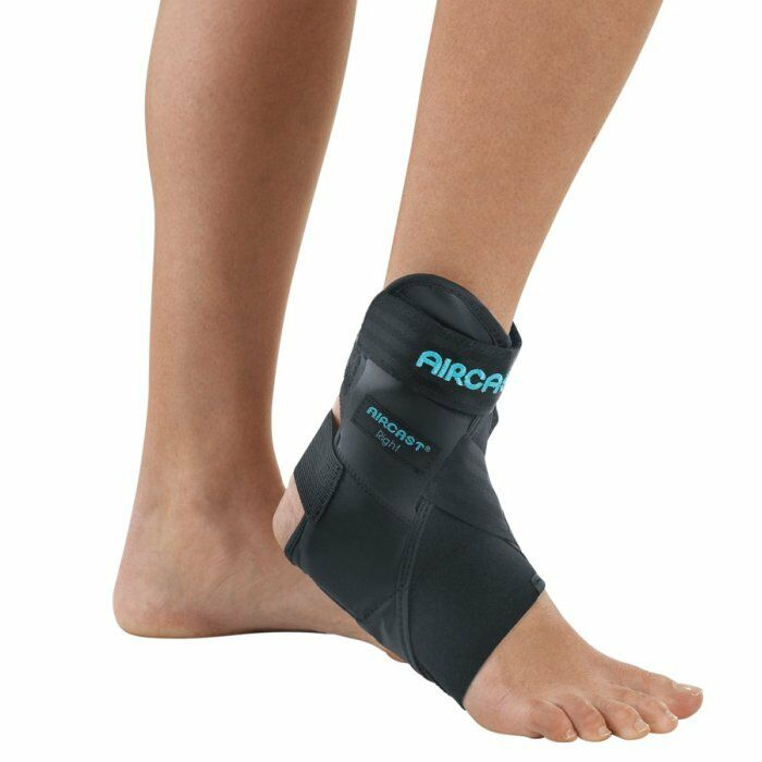 AIRCAST AIRLIFT PTTD ANKLE BRACE ALL SIZES  ADJUSTABLE ARCH AIRCELL FOR SUPPORT