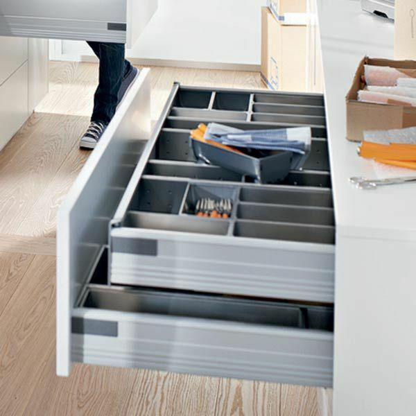 Blum Tandembox 'Plus' Inner Drawer Kit with Blumotion Soft Close - 83mm Height