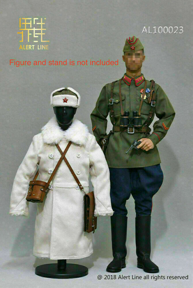 1 6 WWII 1942 Alert  Line rouge Army Officer Clothing Suit F 12  Male Figure Body  beaucoup de concessions