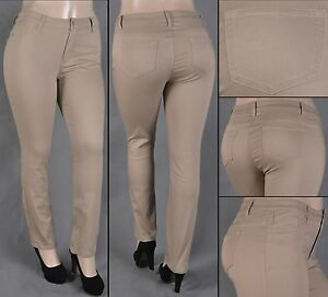 a266b999971 NWT Stretch Cotton Twill Khaki Skinny Pants - PLUS size 14 to 22 ...