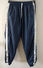 VTG Men's Nike Athletic Pants Lined Blue Athletic Running Gym XL White Tag