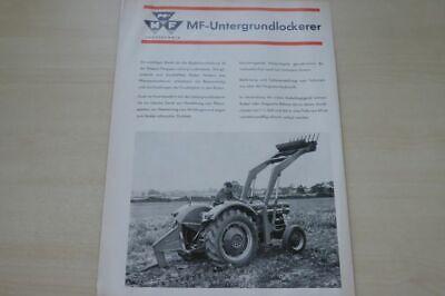 198863) Massey-ferguson - Untergrundlockerer - Prospekt 08/1965