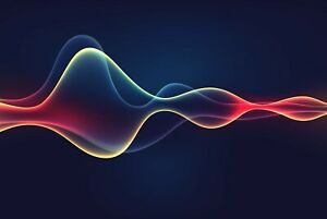 A1-Neon-Sound-Wave-Poster-Art-Print-60-x-90cm-180gsm-Music-DJ-Band-Gift-12305
