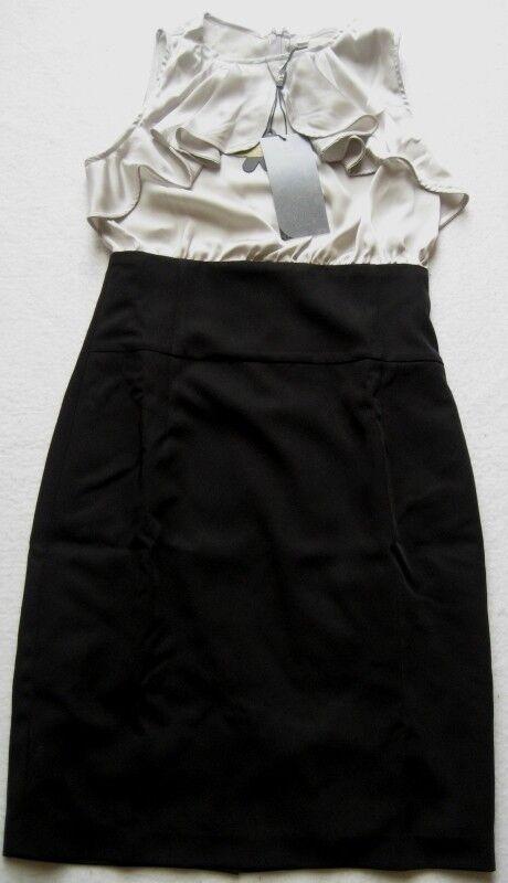 THREE SEASONS Damenkleid Gr. Gr. Gr. S Schwarz-Weiß | Verrückter Preis  | Modern Und Elegant  | Outlet Online Store  c03f2e