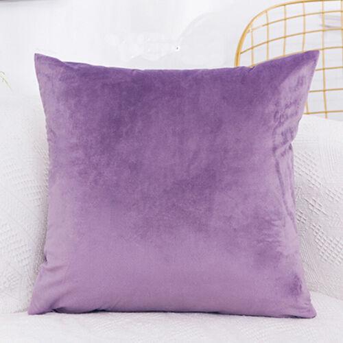 Velvet Cushion Cover Pillow Cover Pillowcase Home Decorative Sofa Pillow Cover