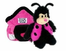 MASCOT AND PILLOW HAPPY NAPPERS JUNIOR LADYBUG 35 CM