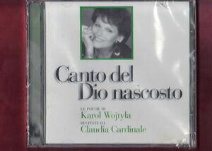 KAROL-WOJTYLA-POESIE-CANTO-DEL-DIO-NASCOSTO-claudia-cardinale-CD-NUOVO-SIGILLATO