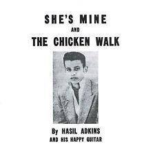HASIL ADKINS - CHICKEN WALK / SHE'S MINE (Insane 50s ROCKABILLY Boppers) repro