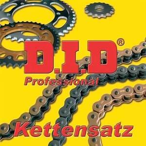 Kettensatz Dt125r 91-06 X-Ringkette G&B 428VX Off Yamaha DT 125 R Gold/sz 489446
