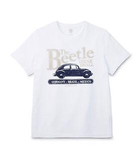 Originales-de-VW-clasica-senores-escarabajo-Beetle-t-shirt-S-L-XL-6r5084200-084-nuevo