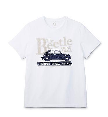 Original VW Classic Men's Beetle Beetle T-Shirt S L XL 6r5084200 084 -NEW