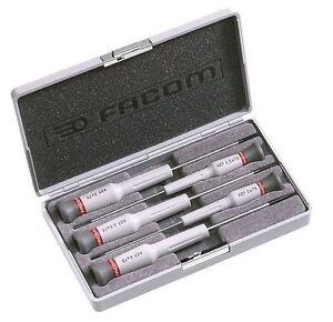 Facom-5-Piece-Flat-Blade-Micro-Tech-Screwdriver-AEF-J2