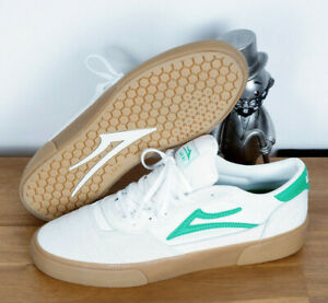 Lakai Footwear Skate Schuhe Shoes Cambridge White Grass Suede 9/42,5