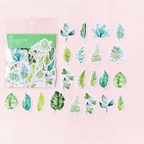 45Pcs//bag DIY Diary Journal Sun Flower Language Series Sticker Scrapbooking b