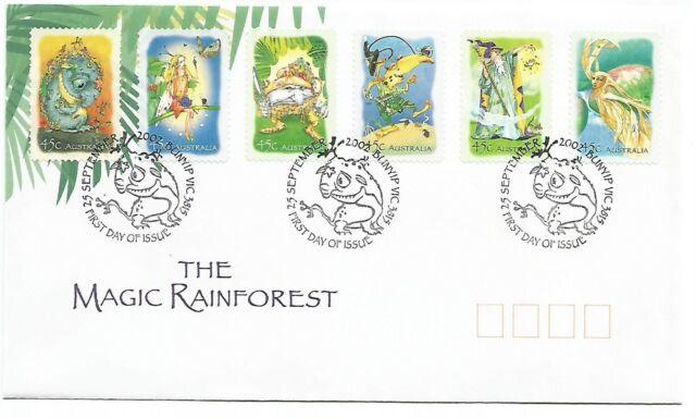 2002 Australia ⁘ The Magic Rainforest ~ First Day Cover