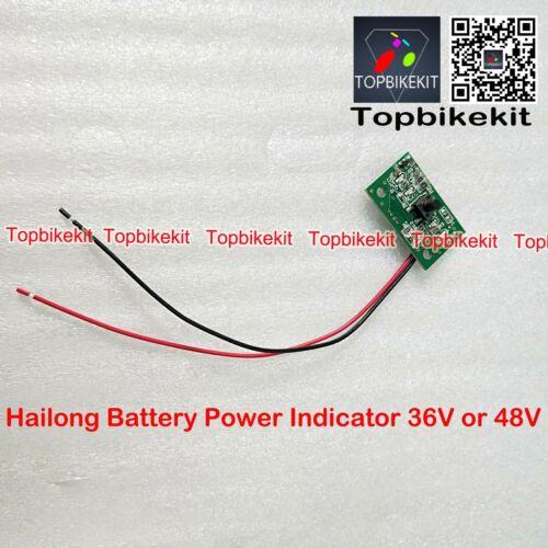Hailong Battery Case Power indicator 36V or 48V for Hailong battery display