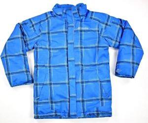 644548da6 COLUMBIA Boys Twist Tip Waterproof Insulated Winter Jacket SZ M Blue ...