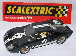 Scalextric Espagne Altaya Duels Mythiques Ford Gt 40 #2 B.mclaren-c.amon