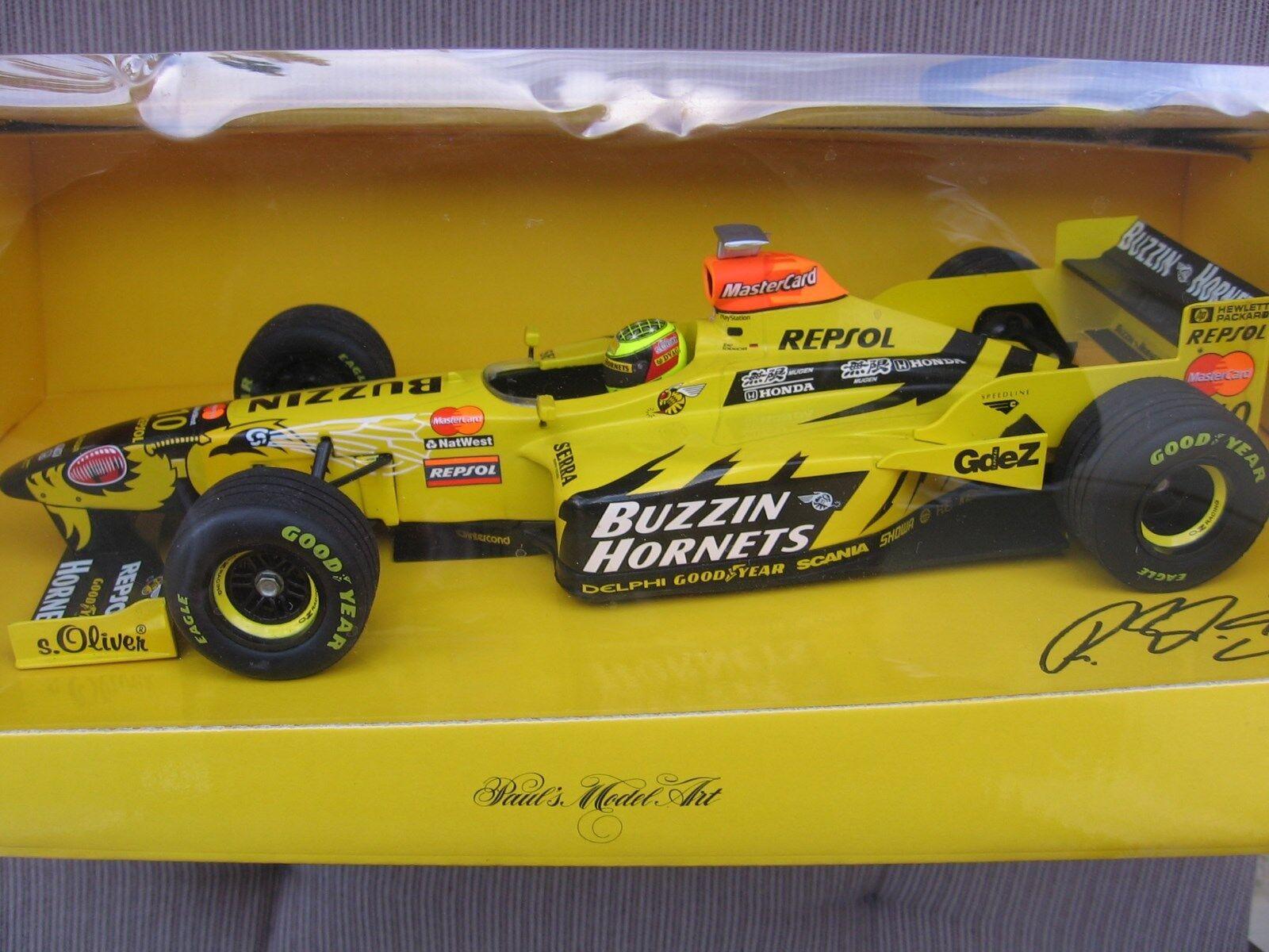 F1 Ralf Schumacher RSC Jordan Mugen Honda 198 Minichamps NEW & OVP