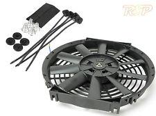 "8 ""Universal 12v radiator/intercooler Rad Fan de Kit de proyecto coche"