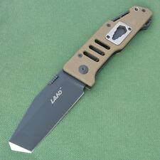 Sanrenmu LAND 9046 T08 Liner Lock Black Blade G10 Handle pocket Folding Knife