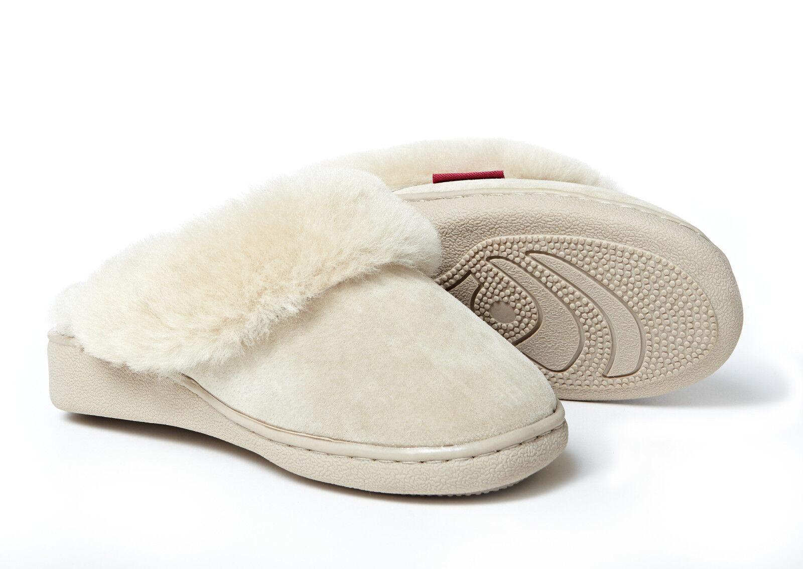 Lammfell Pantoffeln Damen Korfu richtig warme Hausschuhe Damen Pantoffeln Herren Fell 36-48 12e1b8