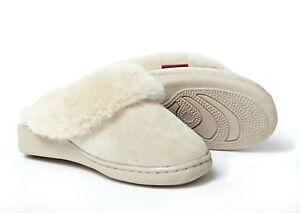 size 40 f3b81 d7877 Details zu Lammfell Pantoffeln Korfu richtig warme Hausschuhe Damen Herren  Fell 36-48