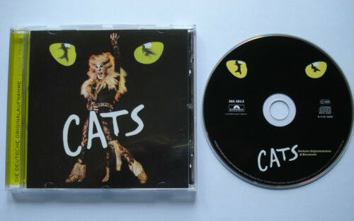 1 von 1 - DEUTSCHE ORIGINALAUFNAHME + BONUS TRACK  __  CATS  __  15 Track CD 2001