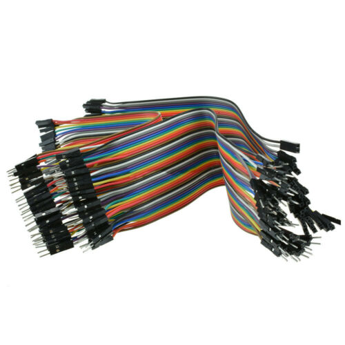 Jumper Wire Dupont Male Female For Arduino Motherboard 120pcs PCB 1p-1p