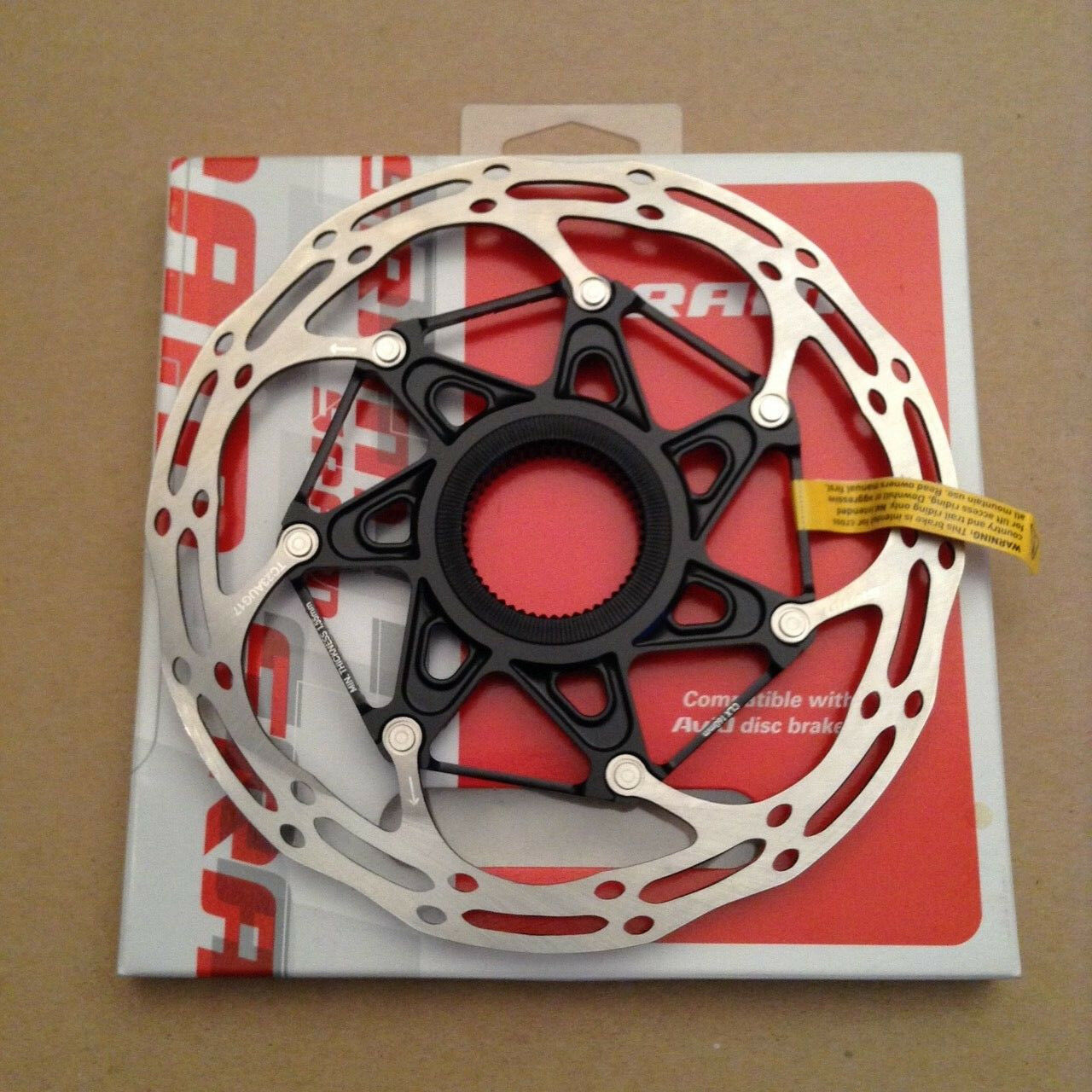 Sram Centerline Centerlock 2 Piece Disc Brake Rotor 160mm