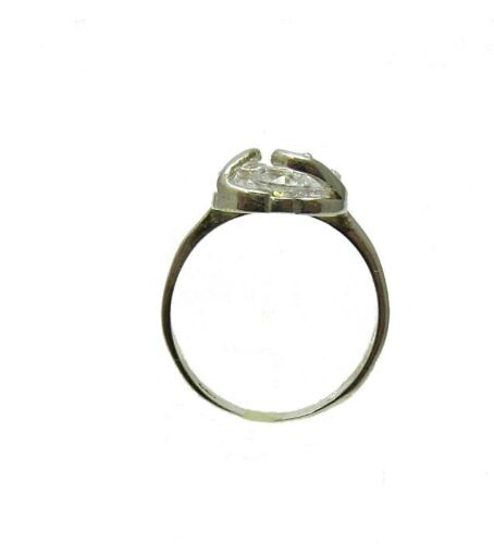 STYLISH STERLING SILVER RING SOLID 925 ROLLING CZ NEW R001337 EMPRESS