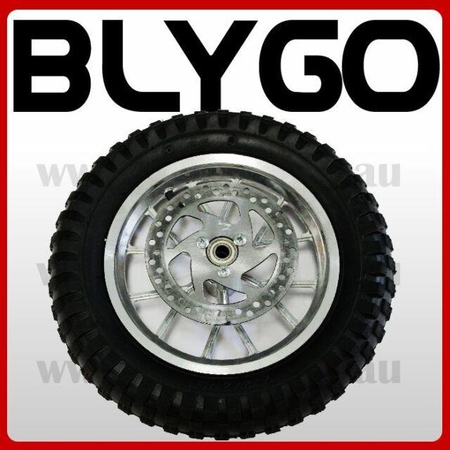 12.5 x 2.75 Front Wheel + Tyre Tire 47cc 49cc Mini PIT Monkey Pocket Dirt Bike
