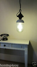 XXL FERA Bauhaus Hängelampe Industrielampe Bunkerlampe Stall Lampe Porzellan