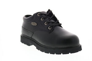 Lugz Drifter Lo St MDRIFLSTWV-001 Mens Black Wide Synthetic Work Boots