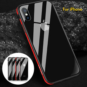sale retailer 87cf1 d1abb Details about Original SULADA Tempered Glass Case Back Cover Metal Bumper  fo iPhone X 7 8 Plus