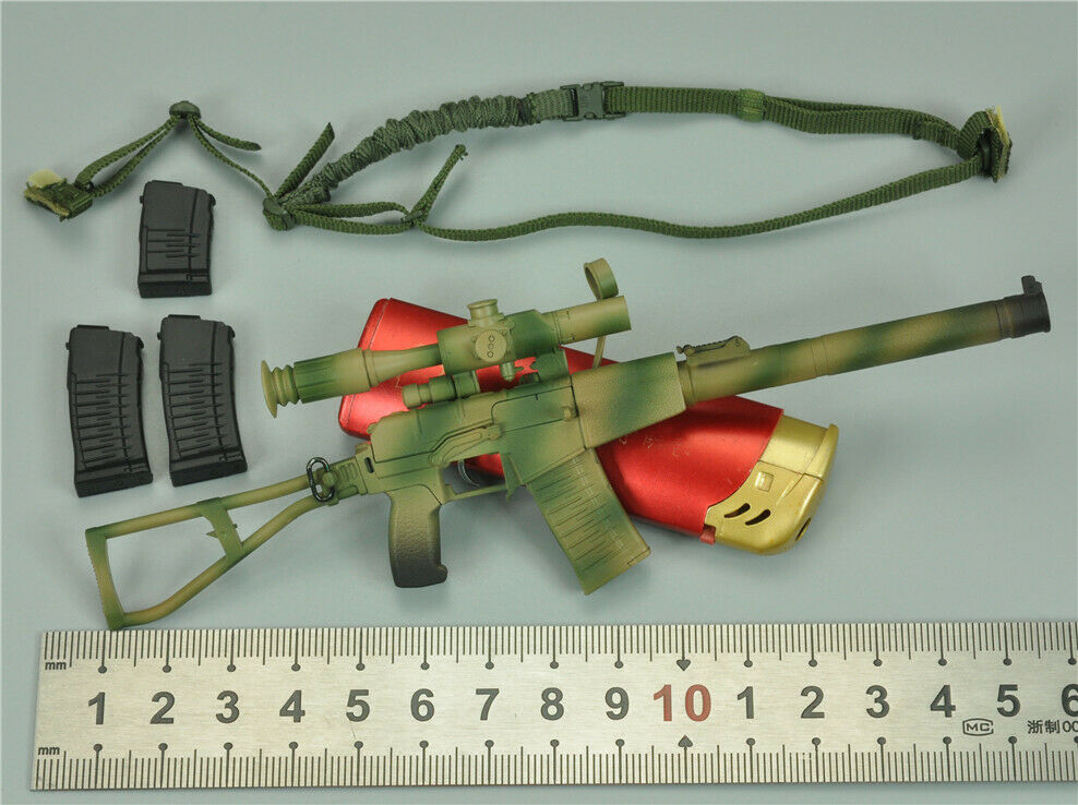 AS Val Rifle Set for DAM 78059 RUSSIAN SPETSNAZ SPETSNAZ SPETSNAZ MVD 2.0 1 6 Scale 12'' Figure ff506d