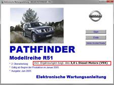 Werkstatthandbuch,elektr.Reparatur/Wartungsanleitung Nissan Pathfinder R51 v.USB