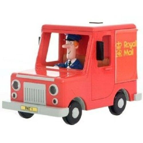 Postman Pat Pat's Van with 2 Parcels Push Along Vehicle