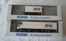 Albedo / Herpa 1: 87    Exklusivmodell Trucks & Europe`s Future Krone